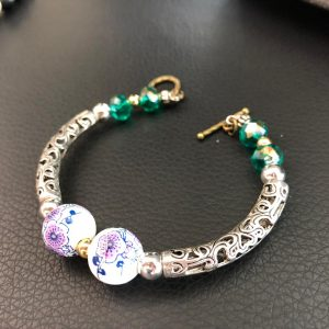 Borneo Padora – Porcelain Beads