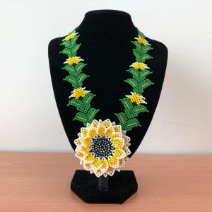 Borneo Native Sunflower Beads