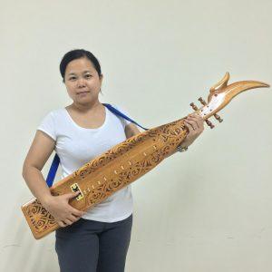 Sape – Borneo Orang Ulu Music Instrument