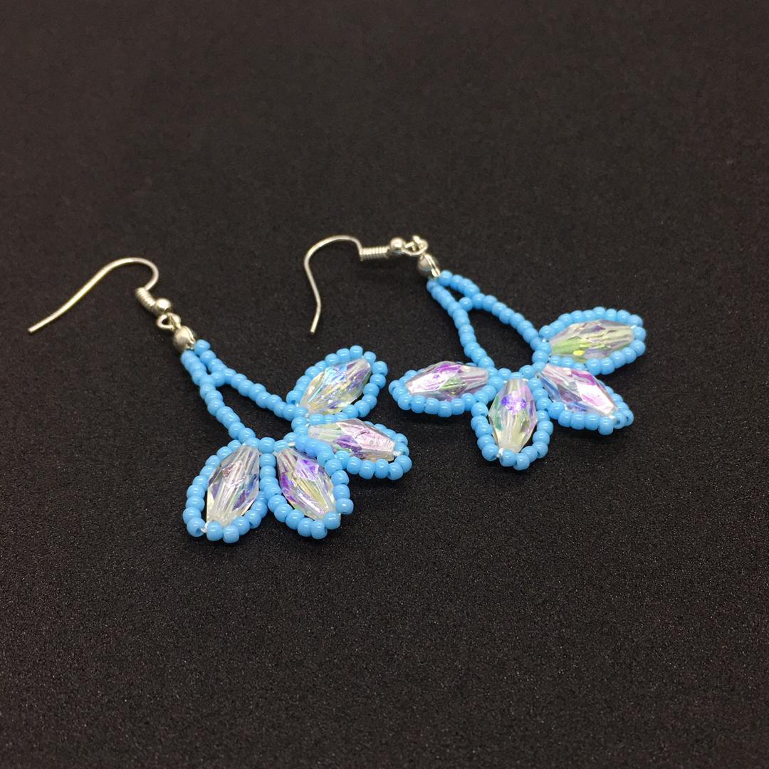 Beads Ear Ring (Handmade)