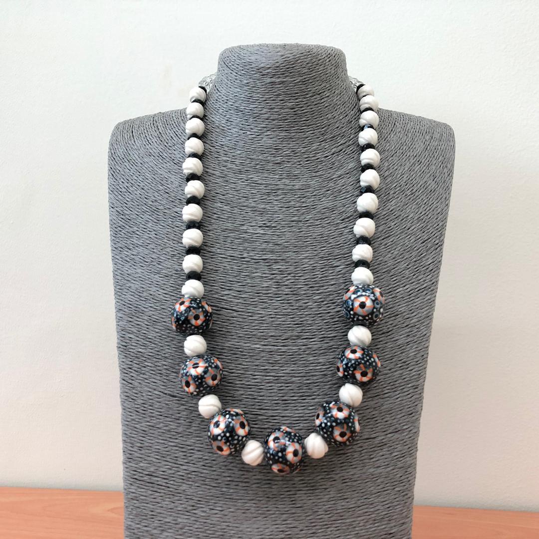 Borneo Orang Ulu Ceramic Beads