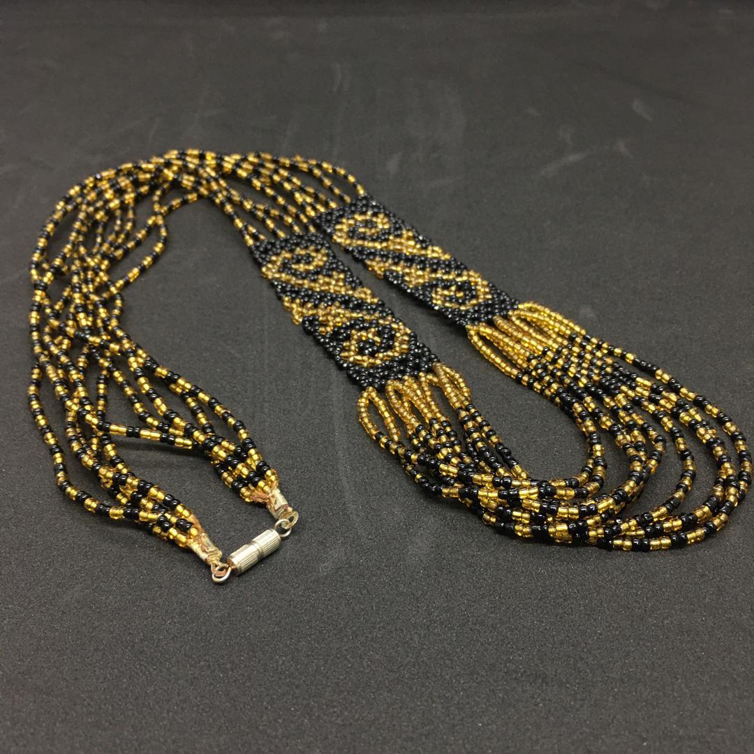Orang Ulu Beadwork Necklace