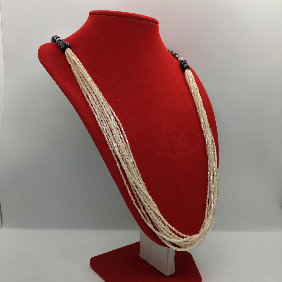Beads Necklace with ceramic
