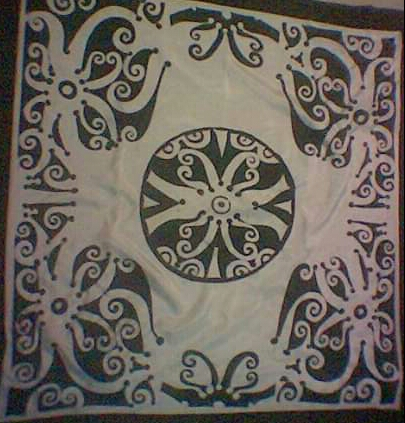 Batik scaft