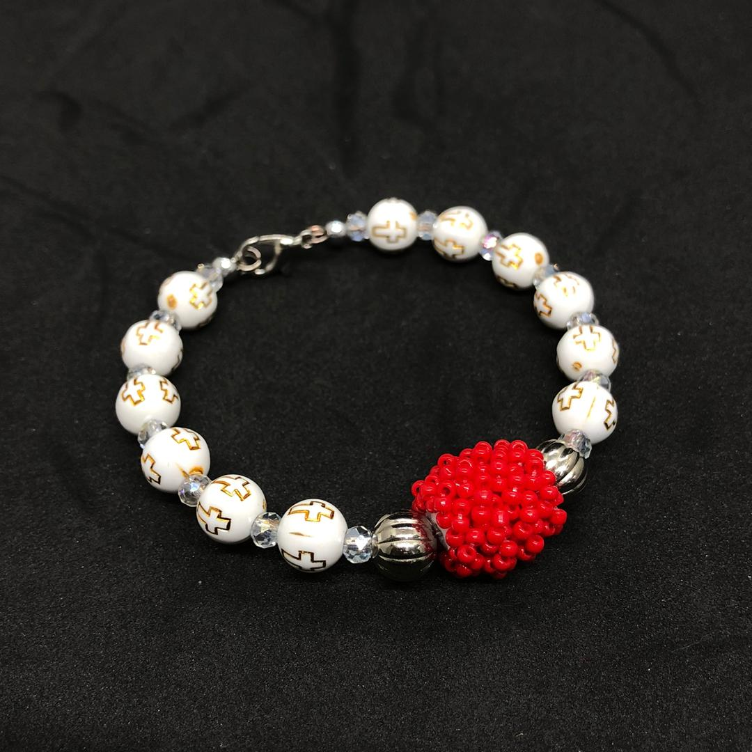 Kabo Ceramic and Glass Beads Bracelet