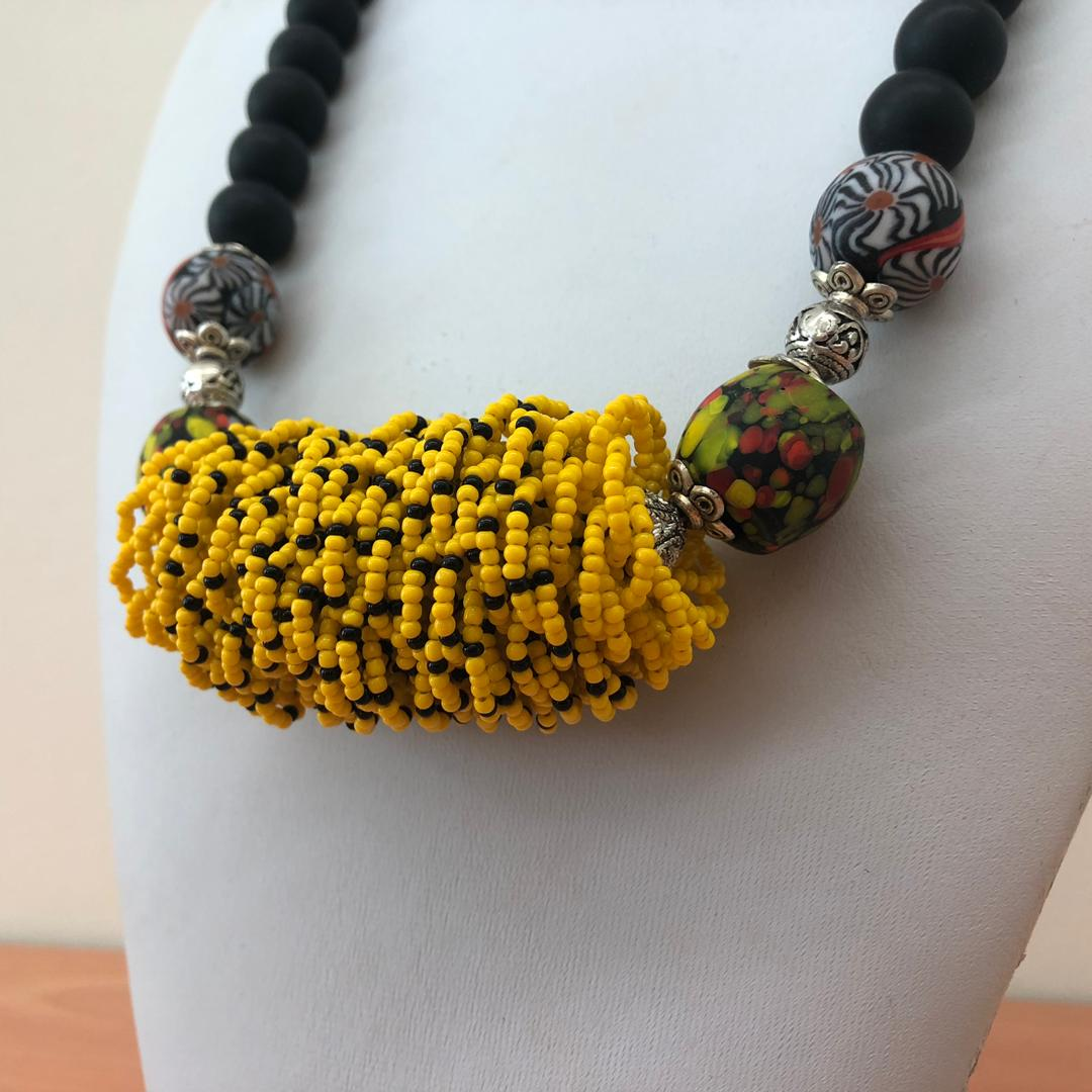 "Borneo Native ""kabo"" Necklace"