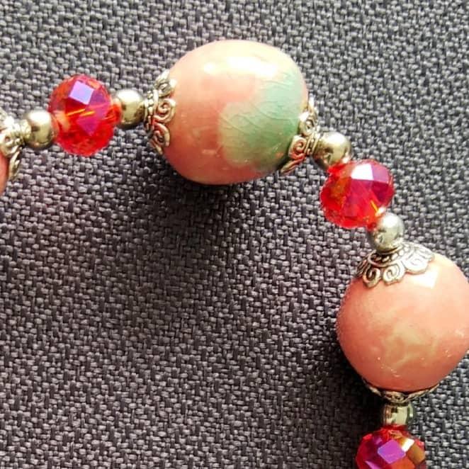 Unique Handmade Ceramic Beads