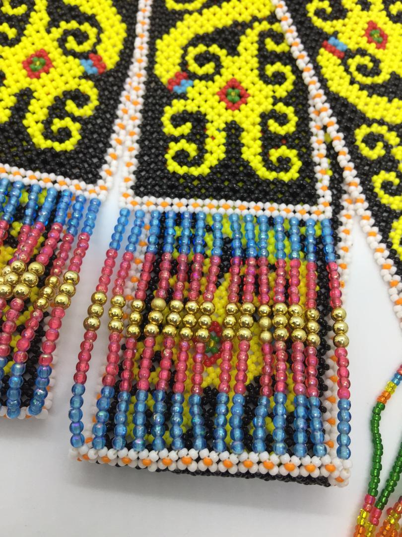Yellow sebilang (Kenyah)