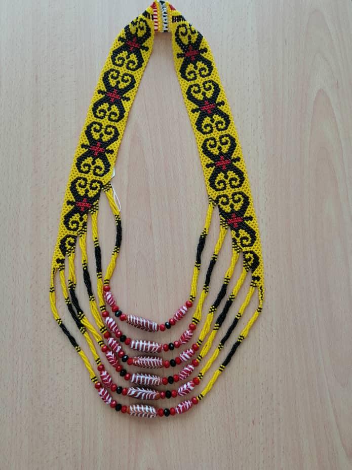 Rantai Moden Gloria (Handmade Necklace Borneo)