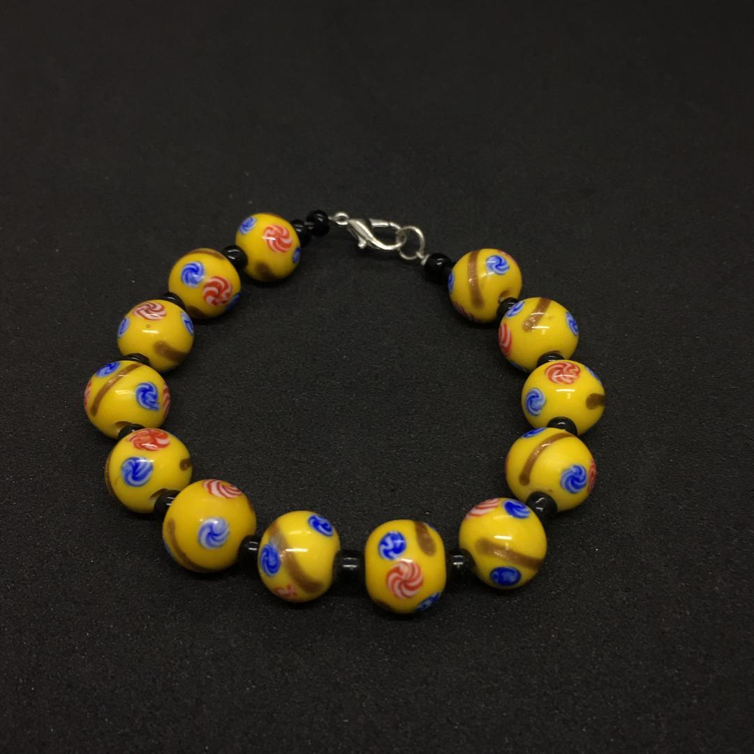 Beads Bracelet (Lukut Emas)