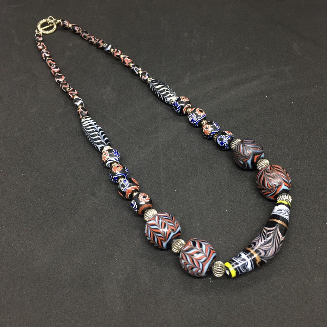 Sarawak Ceramics Beads Necklace