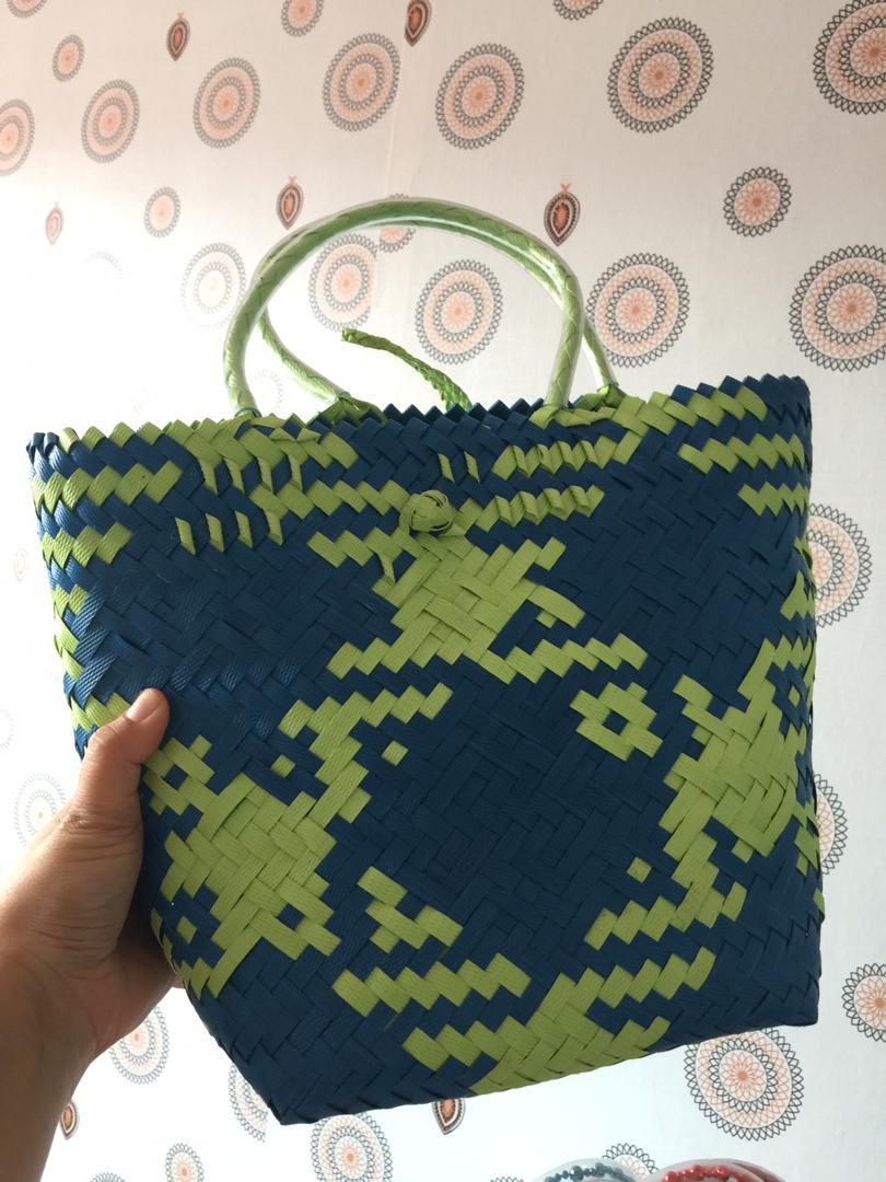 Beg Anyaman Sarawak / Handmade Bag (PVC)