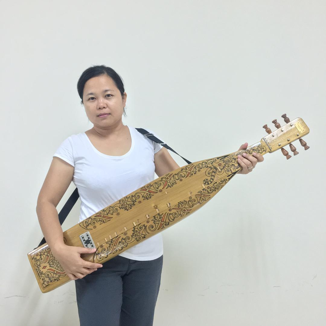 Sape - Borneo Orang Ulu Music Instruments