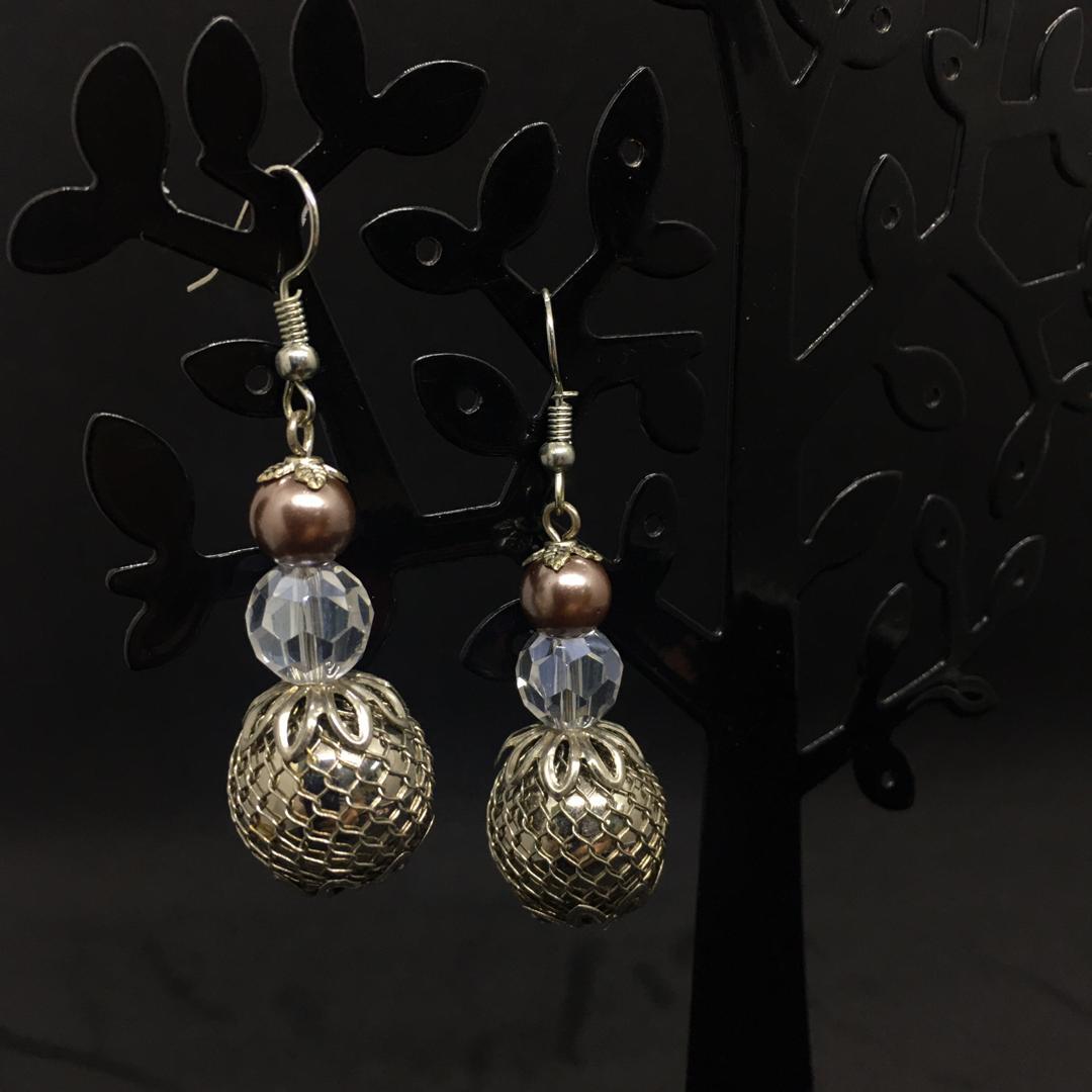 Modern Earrings (One pair)