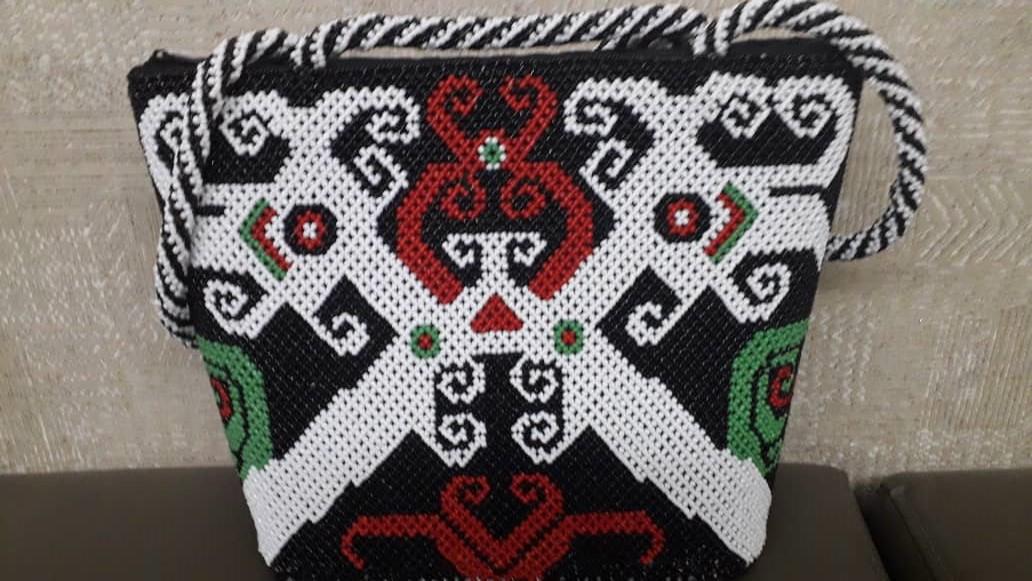 Beads Tote bag (Borneo Handmade)