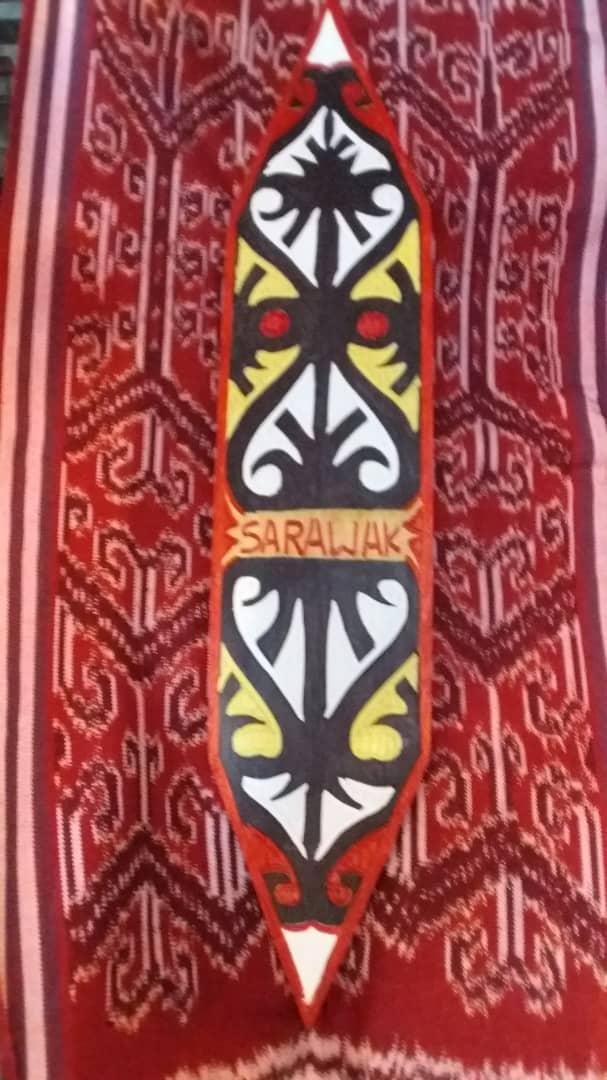 Kelembit (Orang Ulu shield)