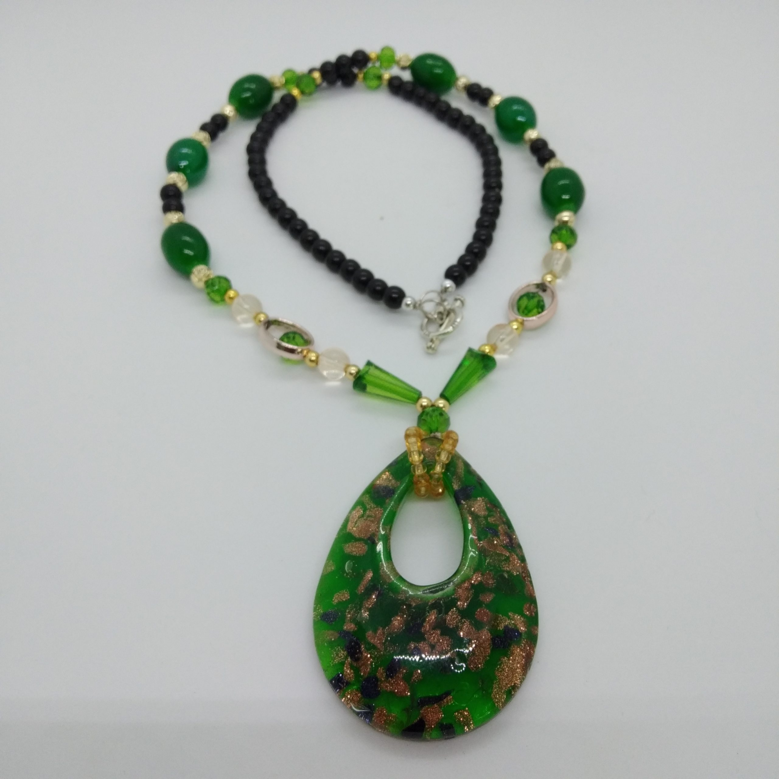 Pendant Necklace (Green)