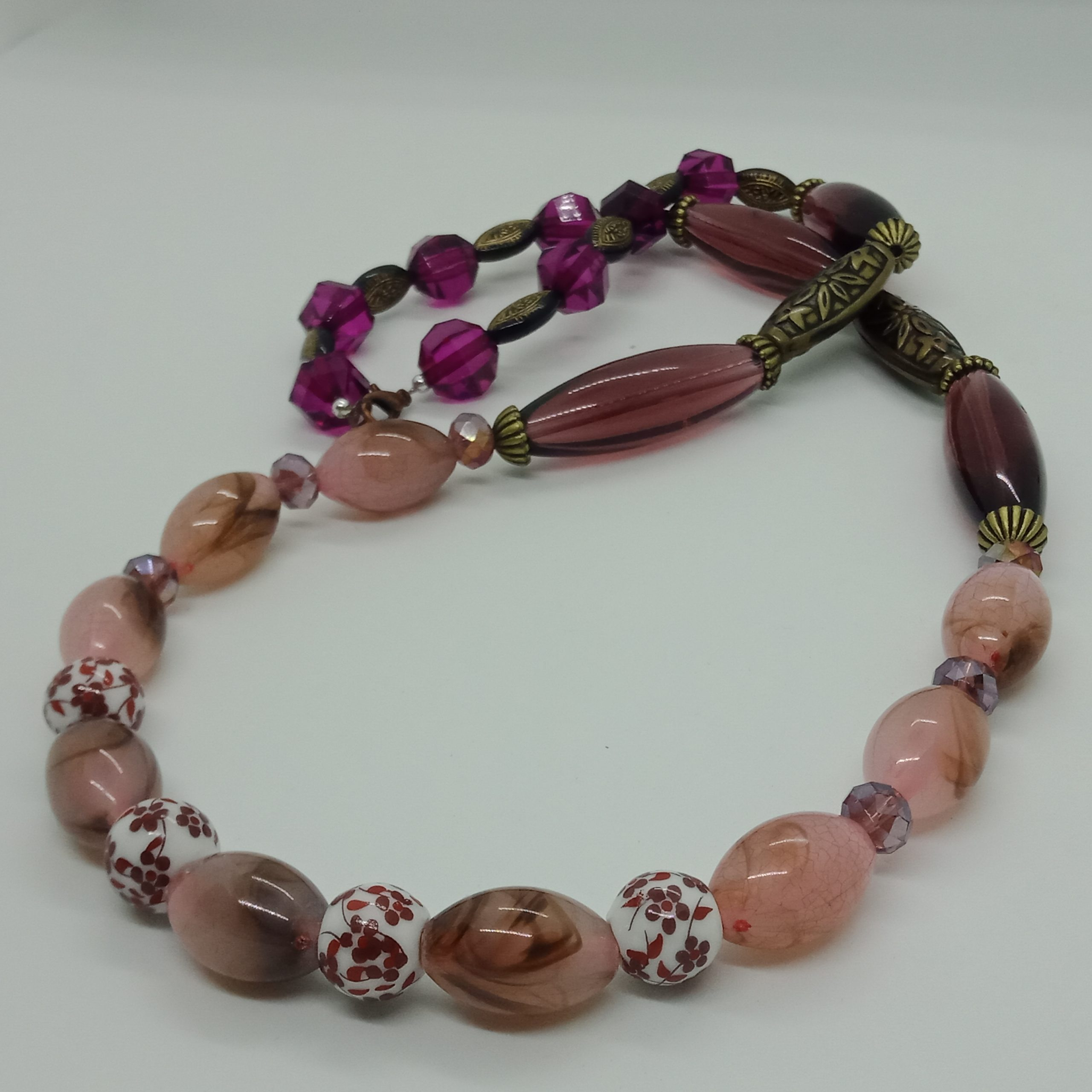 Ceramic Beads Necklace
