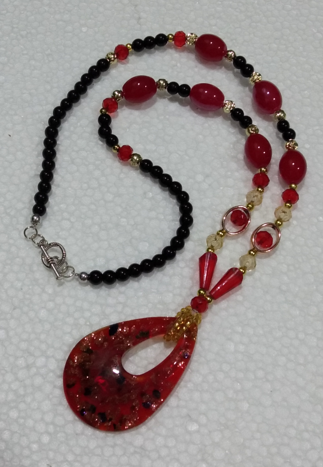 Pendant Necklace(Red)