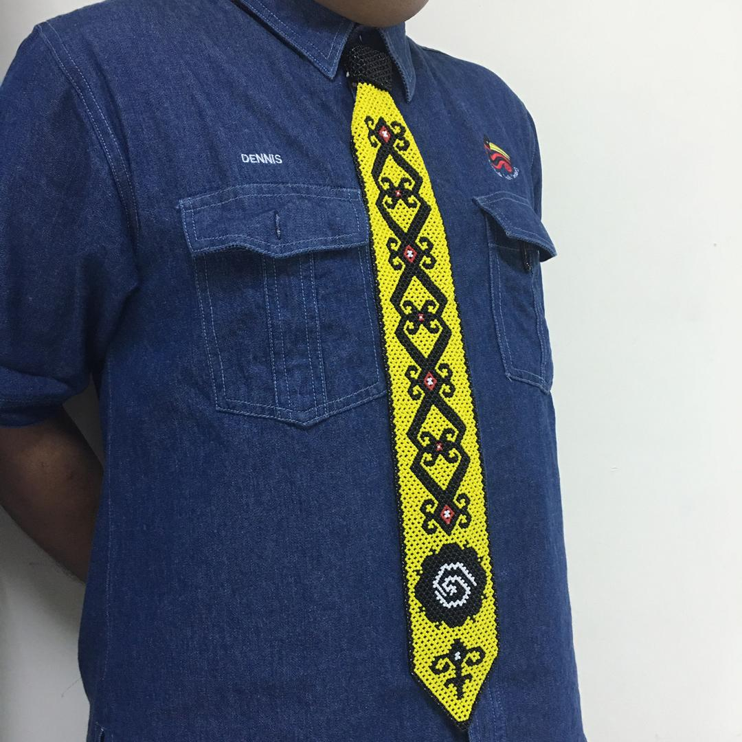 Sarawak Beads Necktie