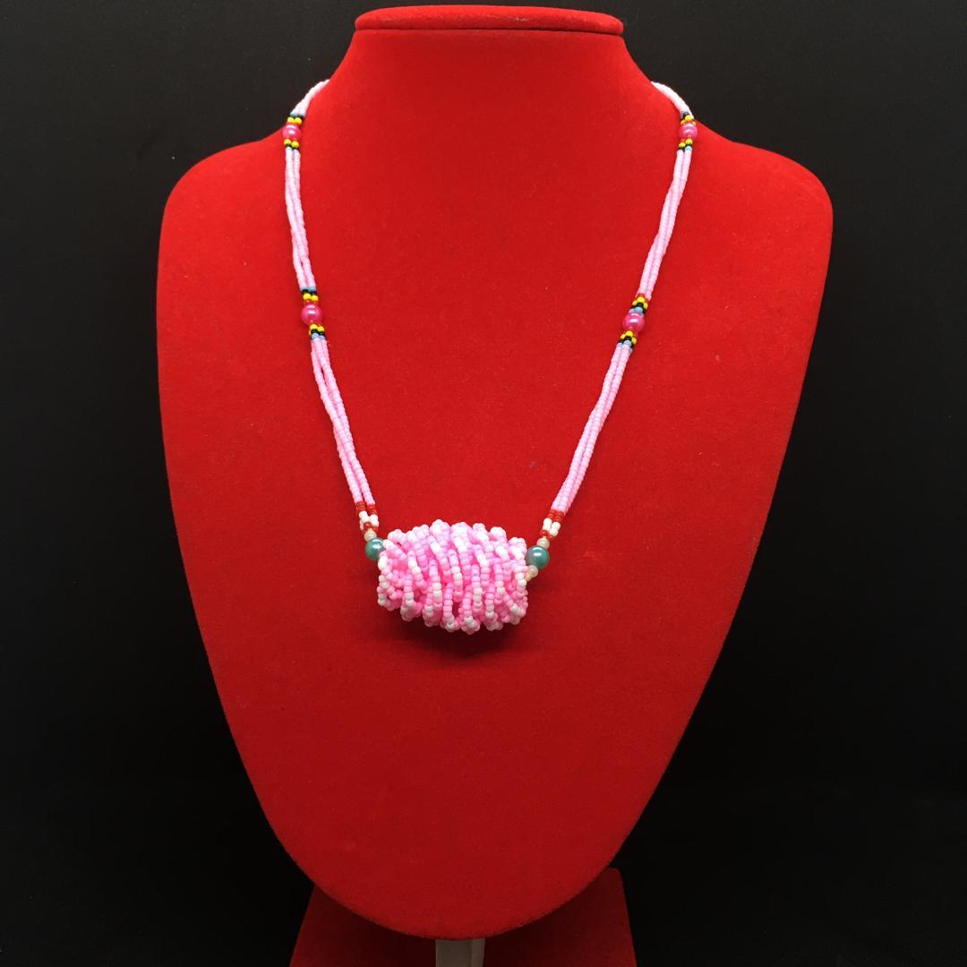 Ladies Kabo Beads Necklace (Borneo Handmade)