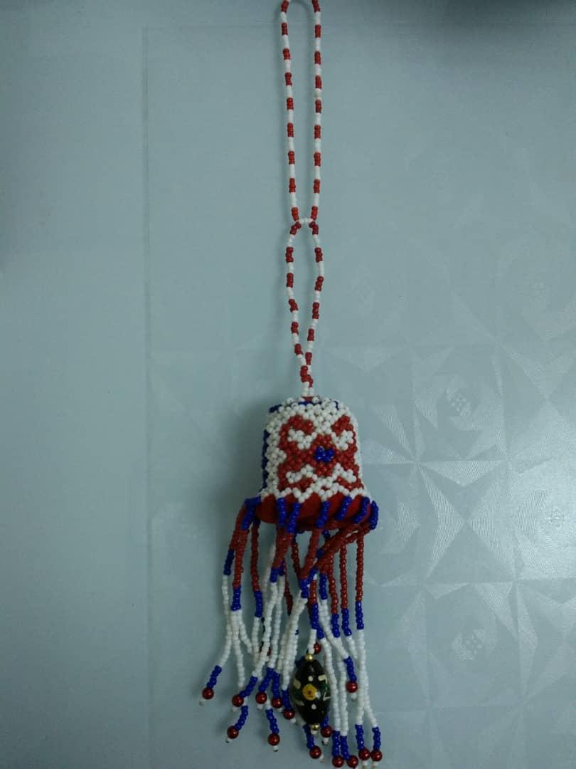Accessory car beads orang ulu