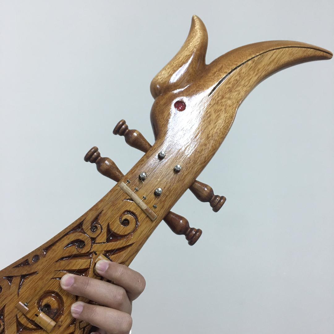 Sape - Borneo Orang Ulu Music Instrument
