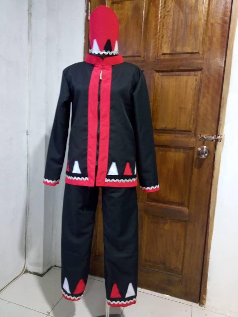 Bidayuh Rara Lundu costume