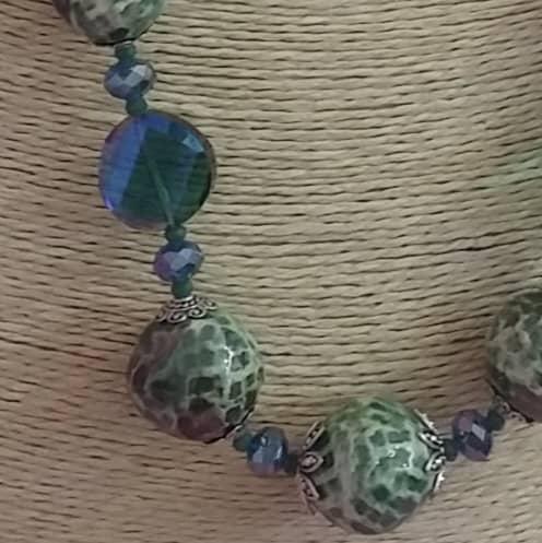 Unique Handmade Ceramic Necklace