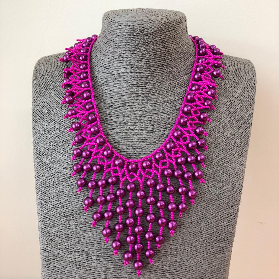 Modern Necklace (Handmade Borneo)